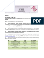 Surat Jemputan Perwakilan