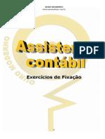 Ass Contábil - EX de Fixação