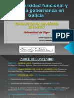 Diversidad Funcional y buena Gobernanza en Galicia (ppt)