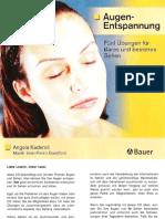 Booklet - Augen-Entspannung - 5 Übungen Für Klares Und Besseres Sehen