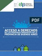 Acceso a Derechos de Las Personas Migrantes Pcia Buenos Aires