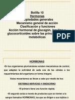 Clase de Hormonas -2014