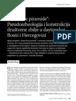 Bosanske_piramide_Pseudoarheologija_i_konstrukcija Društvene Zbilje u Dejtonskoj BiH