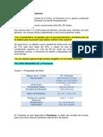 Caracterisitica de La Paulownia
