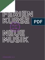 Programmbuch Ferienkurse 2016 Web Einzelseiten