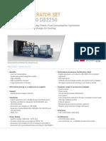 Spec Sheet Mtu 16v4000 Ds2250 Fc