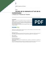 Yod 2014 19 Les Secrets de La Memoire Et l Art de La Transmission