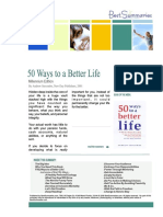 50 Ways to a Better Life