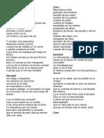 Mayordomo Infiel - Alex Sampedro - Letra