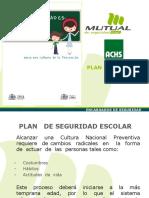 Plan de Seguridad Escolar 2011