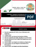 2.2. MINAM Gestión Municipal de Residuos