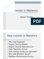 Heat Transfer in Radiators