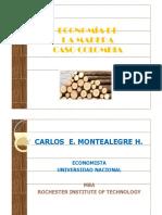 Economia de la madera Carlos montealegre Coruniversitaria