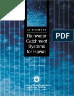 Hawaii Rainwater Harvesting Manual