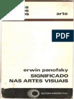 Erwin PANOFSKY - Significado Nas Artes Visuais