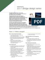 Introducing the 2017 Bridge Design Series