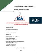 Proyecto Iga - Vero 2017