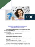 Psihopedagogie Speciala - 2017