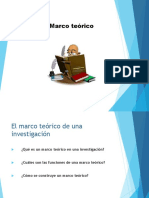 Metodologia de La Investigacion - Marco Teorico
