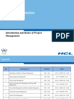 Module 0 - Introduction and Basics of Project Management