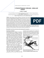 Reefs at Risk in Central Sulawesi, Indonesia - Status and Outlook, International Coral Reef Symposium, Florida, 2008