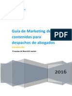 eBook Marketing Contenidos Para Despachos de Abogados
