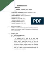 Informe Comprencion Lectora f