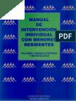 Manual de Intervención con Menores Residentes (volumen I).pdf