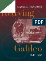FINOCCHIARO ¢ Retrying Galileo, 1633-1992 [KW science; astronomy].pdf