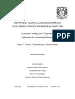 Previo 7 Taller de Farmacodinamia (Farmacometria)