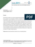Al Escuela Un Lugar de Construccion de Autonomia Docente_concepción de Desarrollo Profesional