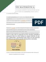 Razón y proporción Matemática