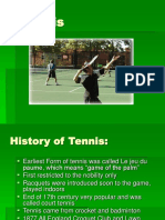 Power Point Tennis Presentation 1