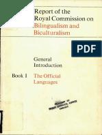 B&B Commission report