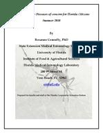 Mosquito Borne Diseases Florida 2010 Minimum Size