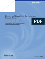 Diversity and citizenship in the curriculum