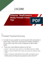 RealPresence Ready Firewall Traversal Guide