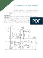Amplificator audio de putere (2N3055 Power Amplifier).odt