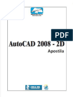 Apostila AutoCAD 2008 - 2D