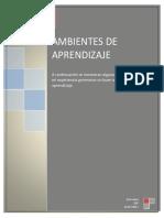 Ambientes de Aprendizaje (1)