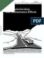 ROAD DETERIORATION