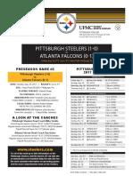 Atlanta Falcons At Pittsburgh Steelers (Aug. 20, 2017)