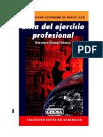 Ética del Ejercicio Profesional