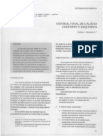 Control total de la calidad conceptos y requisitos
