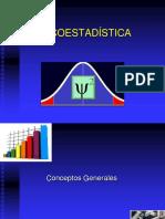 Psicoestadística - Conceptos Generales