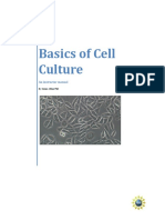 Basics of Cell Culture Instructor Manualv8