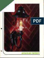 American Lantern Catalog 1972