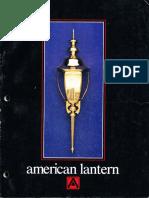 American Lantern Catalog 1987