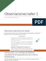 Observaciones Taller 1 y Taller 2 (1)
