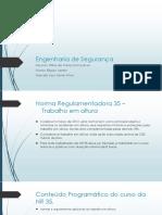 Engenharia de Segurança - NR18